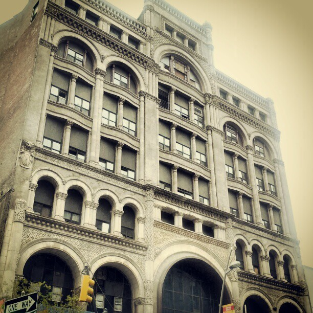 Old building in #brooklyn #fulton street (Taken with instagram)