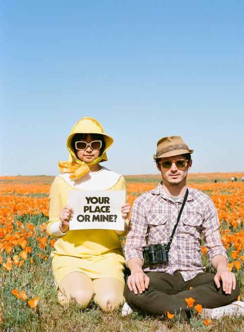 VINTAGE DAILY SHIRLEY 2010 ELIJAH WOOD AND SHIRLEY KURATA road trip with rodarte antelope valley, california