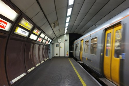 Wirral Line. Liverpool Lime Street. April 2012.