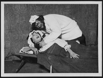 Death bed scene from 'Othello' by National Library of Scotland on Flickr.