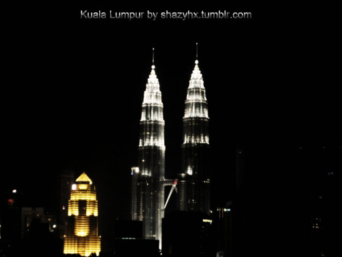 The Petronas Towers (Silver) and the Public Bank (Gold), Kuala Lumpur