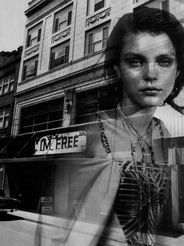 Jessica Stam by Peter Lindbergh for Numéro France December 2004