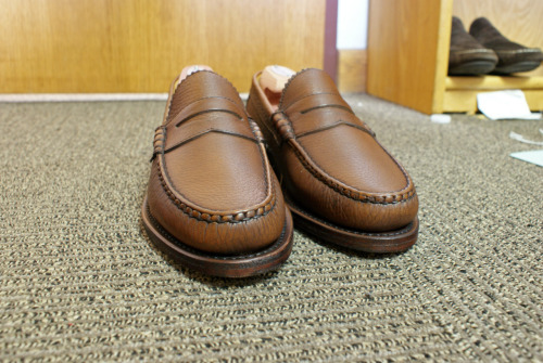 Allen Edmonds quality is far superior then most other brands for the money.