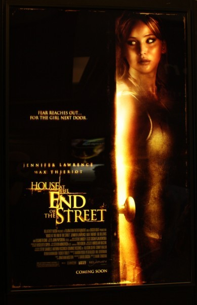 Jennifer Lawrence: New poster for 'House at the end of the Street'