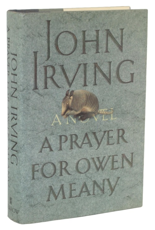 Just gave away 19 copies of A Prayer for Owen Meany (plus one of The History of Love) in 7 minutes and 36 seconds for World Book Night. So I guess that's the time to beat, no?