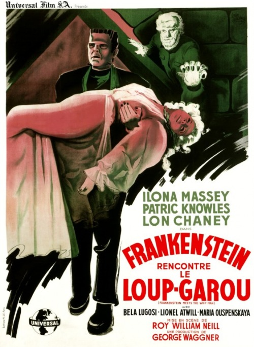 monsterman:  Frankenstein Meets the Wolf Man (1943)