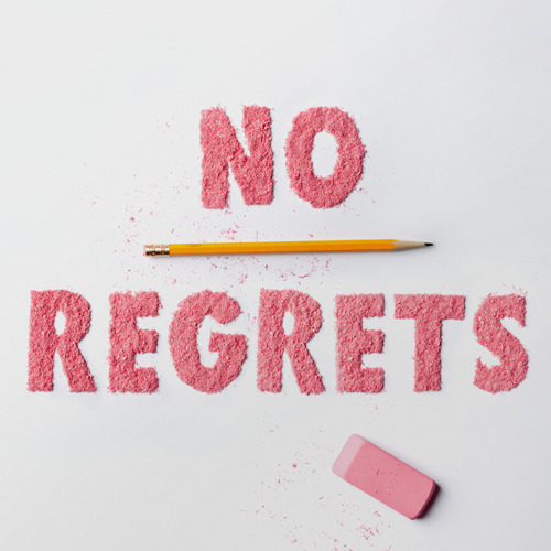 "N is for ""No Regrets"" (via W+K 12.8 / Abecedarium)"