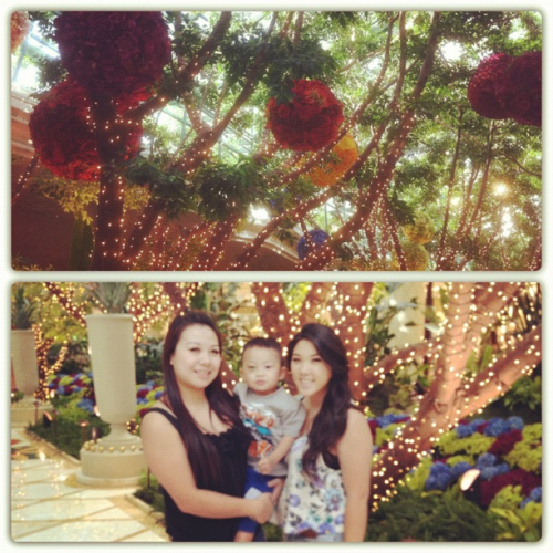 Vegas with my bff & godson (: