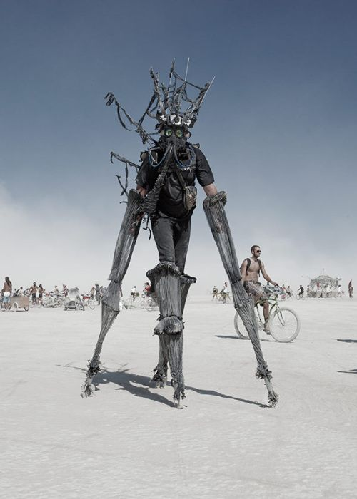 Off topic picture of a Burning Man attendee. Too awesome not to reblog.