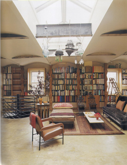 my-favourite-books:  Living in the library