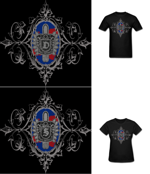 NEW The Vampire Diaries Damon and Stefan Rings Crest T Shirts!