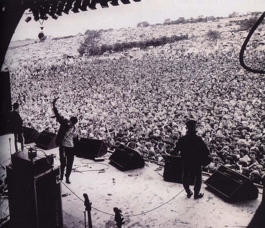 The Smiths live at Glastonbury