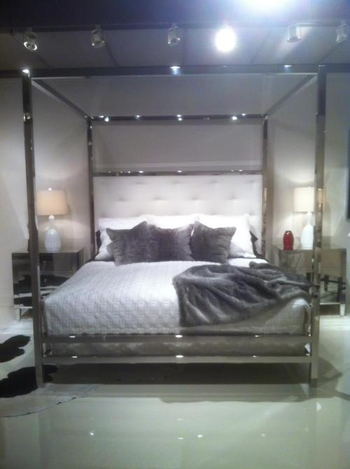 A breathtaking new bed from Bernhardt!  We are very excited about bringing this in.  It is a wonderful combination of traditional and contemporary design.
