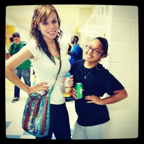 I love this chick. She my best friend & also my little sister. :)  (Taken with instagram)