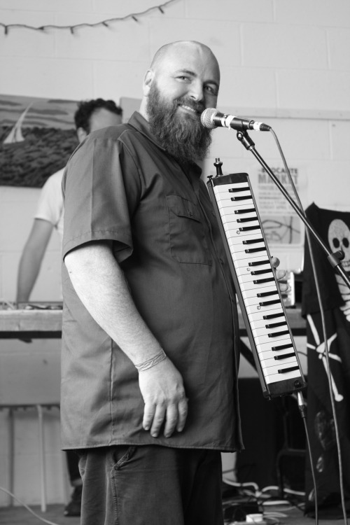 Sorting through Melodica Deathship photos from yesterday right now. This one doesn't quite match the band's sound :p