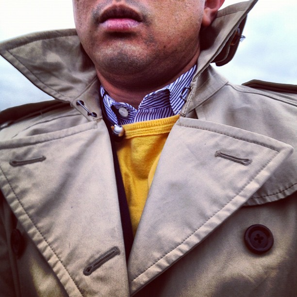 Back on that Count Chocula collar poppin #brrr (Taken with instagram)