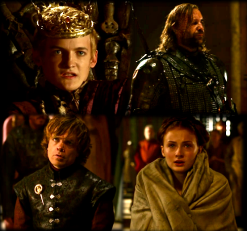 """Crowns do queer things to the heads beneath them.""      -Tyrion Lannister"