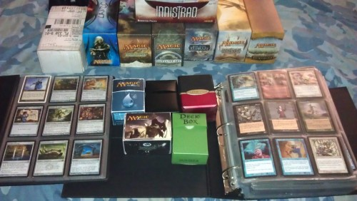 This is everything I own relating to Magic the Gathering.