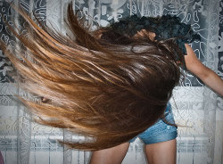 ombre hair having fun xxoo ROCKSTAR
