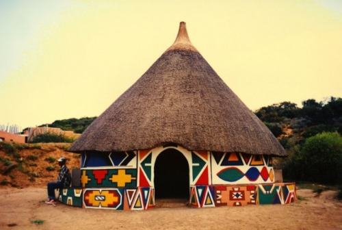 Architecture of the Ndebele ethnic group (in South Africa)