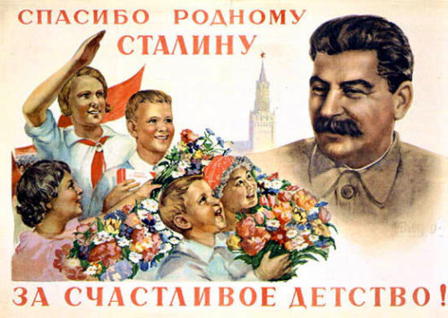Thank you, Comrade Stalin