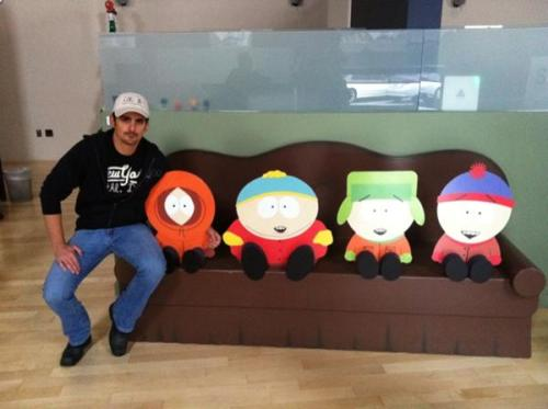 Brad Paisley ‏ @BradPaisley Spent the day Sunday @SouthPark . You all might want to watch this Wednesday. So seriously.