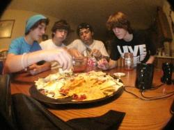 sucha old picture, best nachos i've probably ever had.