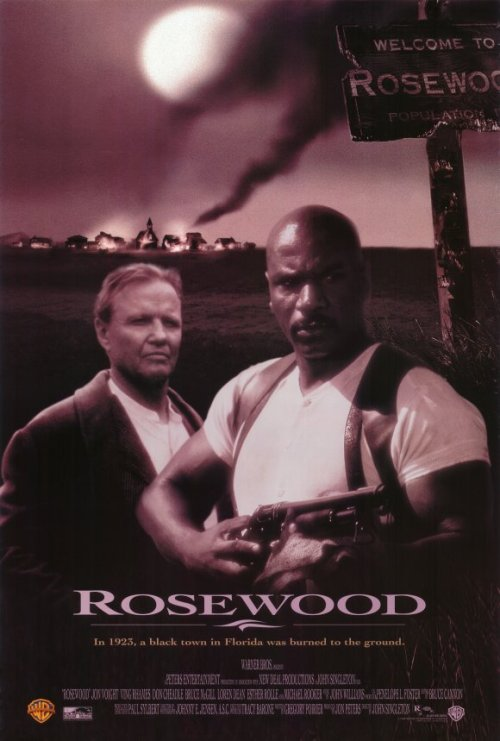 Ving Rhames and Don Cheadle headline this fictionalized retelling of the Rosewood massacres, a 1923 incident in which a white mob used a white woman's false rape allegations as the motivation to destroy a peaceful, predominately black town. Jon Voight, Bruce McGill and Michael Rooker also star in this poignant historical drama from Academy Award nominee John Singleton (Boyz n the Hood).  Currently watching.