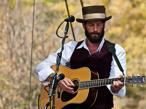 Ray LaMontagne. Being prefect. For fuck's sake.