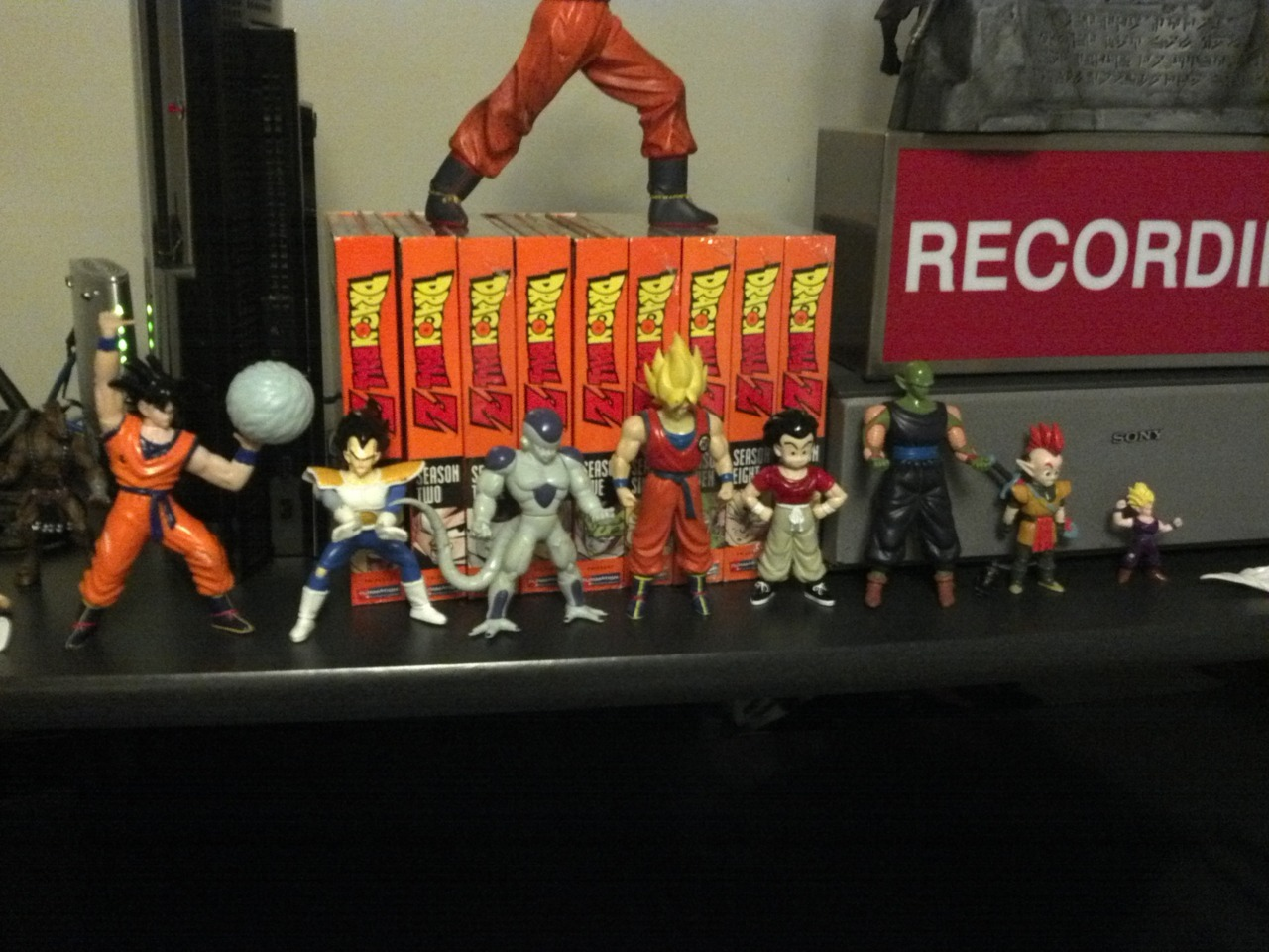 Found all my DBZ stuff.  haha