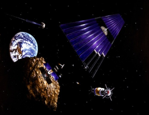 Tech Billionaires Plan Audacious Mission to Mine Asteroids