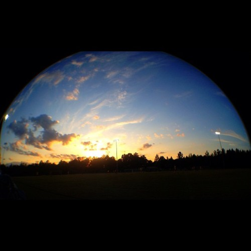 #sunset #hdr #fisheye  (Taken with instagram)