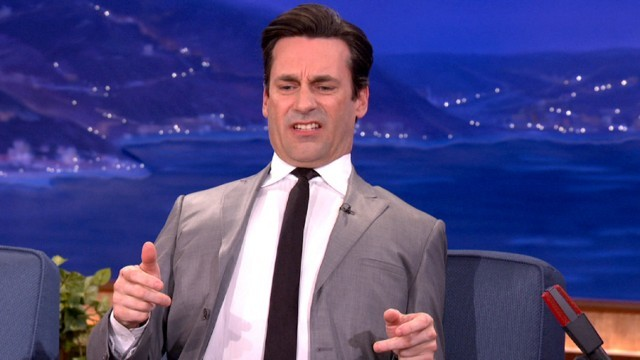"emotionswithjonhamm:  jon ham's ""how do i unhook a bra?"" face is preeeeetty attractive, right ladies??????"