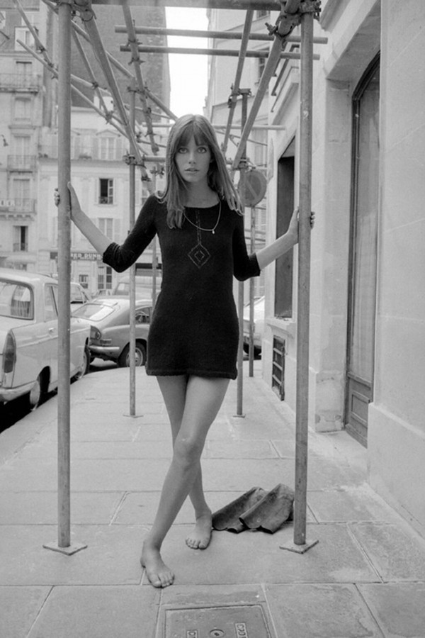 dustjacketattic:  jane birkin by roger viollet
