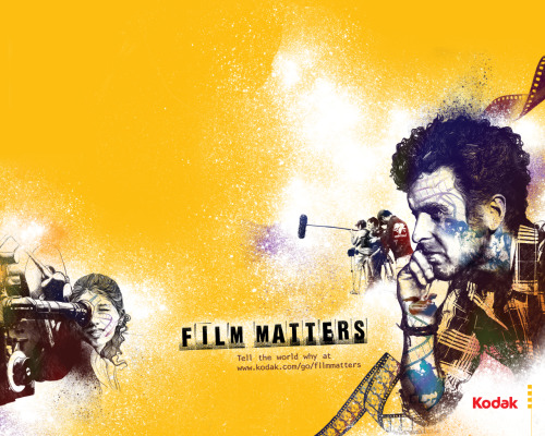 Having my film matters movie poster mailed to me from Kodak. Freaking awesome!