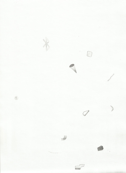 Arend deGruyter-Helfer Excerpt 1, 2012 Pencil on paper STARTING BID: $40 SECTION 1