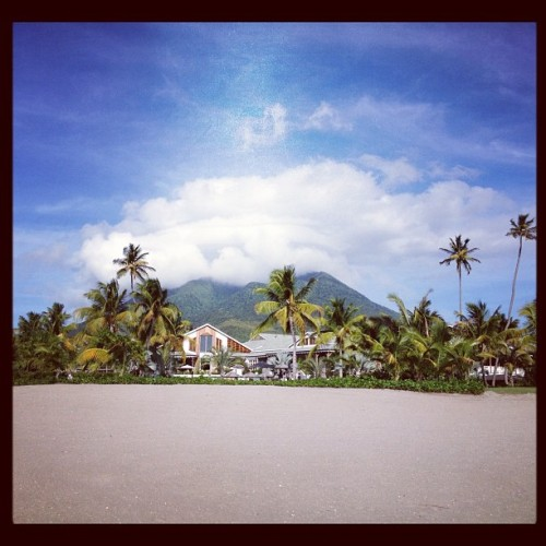 Dormant volcano in the center of Nevis #nevis #island #volcano (Taken with Instagram at Nevis)