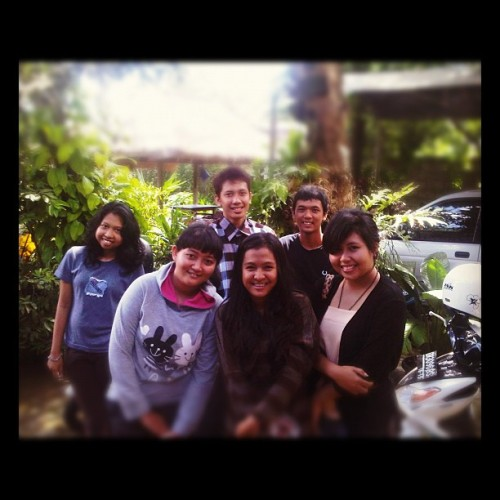Thanks for coming home. Already miss ya :'| @achiecicicuit @giegient @ZakiahNH @sandikapratama9 , aufar #instagram #instapad #pictoftheday #friend (Taken with instagram)