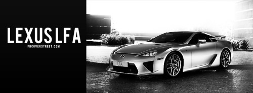 Lexus LFA Facebook Cover