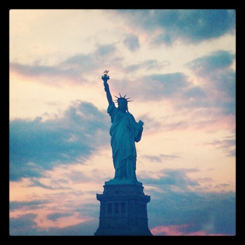 Lady Liberty???? (Taken with instagram)