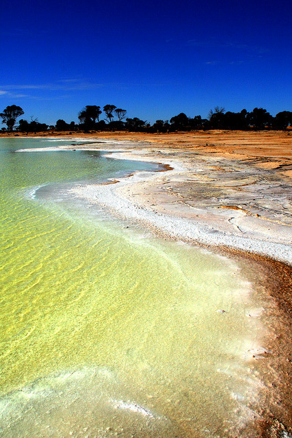 Salt lake, Western Australia by Ianmoran1970 on Flickr.