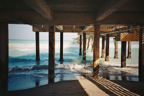 aquaticwonder:  Under The Pier (by Jimmypurchase)