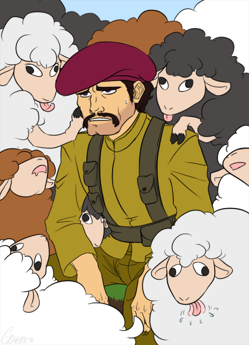 pennieblack:  Nothing but sheep… by ~Gomeric85  I would probably not probably not not not blow baj up <3.