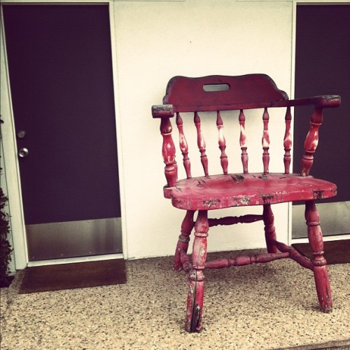 Random big chair #big  (Taken with instagram)