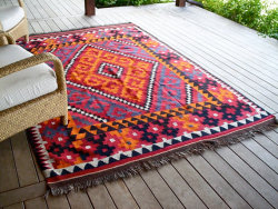 Lovely etnic rug for the urban hippy with an eclectic lifestyle