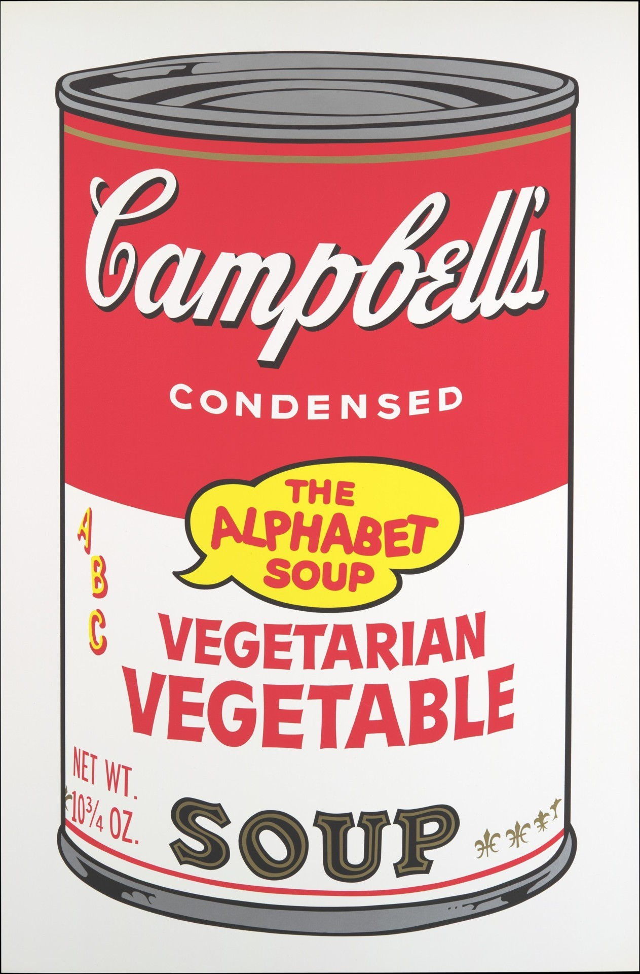 narcissusskisses:  Andy Warhol - Vegetarian Vegetable from Campbell's Soup II, 1969. Screenprint