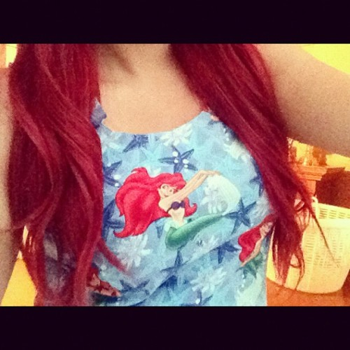 New mermaid crop tops