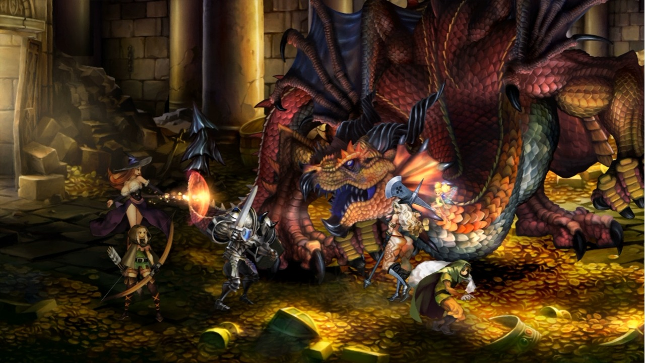Dragon's Crown Publishing Transferred to Atlus Vanillaware's Dragon's Crown was to be published by Ignition (King of Fighters XII, El Shaddai). However, Atlus have announced that they will now be handling the release. There's still some confusion as to whether Atlus will be collaborating in the game's production or if they are only handling the publishing. Hopefully this doesn't allude to Vanillaware having trouble developing the game, because it looks frickin' awesome.