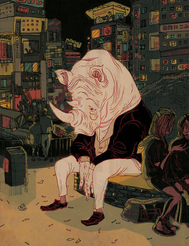 Illustration on Dripbook : : Victo Ngai | Personal Works | Brooklyn, NY, US