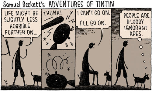 I was just thinking today how much I love Tom Gauld's work. So I am posting this here so other people will love it too.